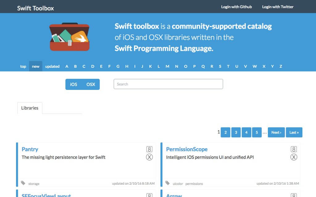 Swift toolbox