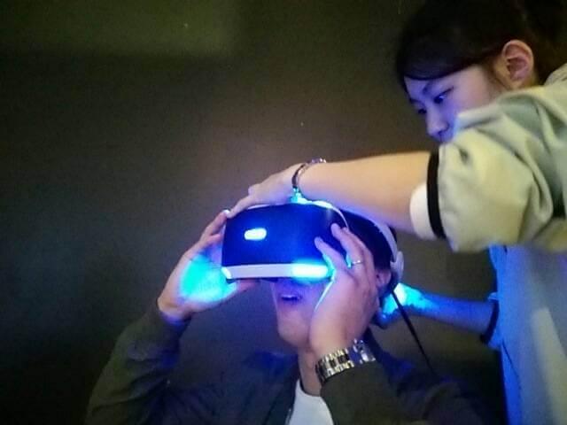 Play Station VR ヘッドセット