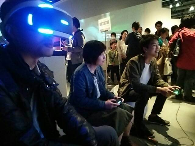 Play Station VR体験